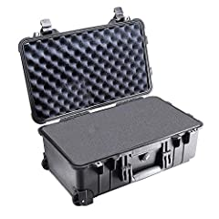 Waterproof crush-proof and dust-proof Convoluted lid foam FAA maximum carry-on size Retractable extension handle Strong polyurethane wheels with stainless steel bearings Easy open double throw latches Open cell core with solid wall design - s...