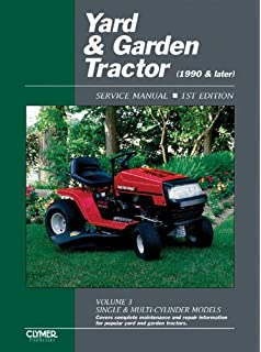 Riding lawn mower service manual 4th edition clymer pro yard garden tractor service manual 1990 later vol 3 single fandeluxe Choice Image