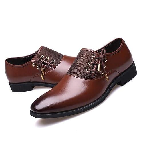 4b0ea81cc6d Zapatos De Vestir De Los Hombres Negro Classic Point Toe Oxfords para  Hombres Moda Hombres Zapatos De Fiesta De Negocios Zapatos CláSicos  Varones  ...