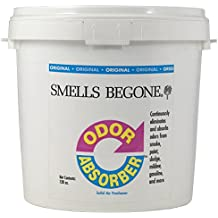 SMELLS BEGONE Odor Absorber Gel - Air Freshener - Industrial Size - Non-Toxic - Original Scent (1 Gallon)