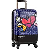 Heys America Britto-Butterfly Love 21-Inch Carry-on Spinner Luggage