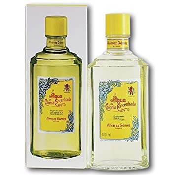 Agua de Colonia Concentrada Cologne Splash (400 ml) by Alvarez Gomez