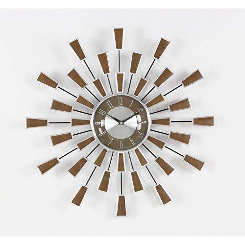 Benzara Ravishing Metal Wall Clock