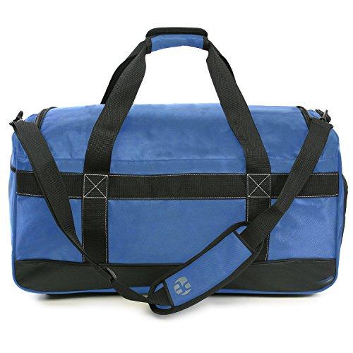 """51z4CNP1MBL - Perry Ellis 22"""" Weekender Duffel Bag, Navy"""