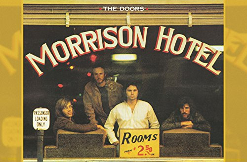 "Trends International the Doors-Hotel Wall Poster, 22.375"" x 34"", Multicolor"