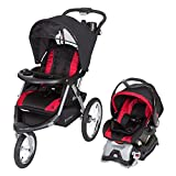 Baby Trend Expedition GLX Jogger Travel System, Flex Loc 32lb Car Seat, Firestone