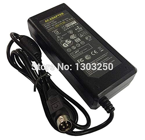 Fincos 12V 6A 72W 4 Pin Type AC//DC Adapter Power Supply 4-Pin for LCD TV Monitor 20pcs DHL Wholesale