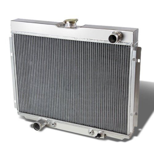 For Ford Mustang & Fairlane Full Aluminum 3-Row Racing Radiator