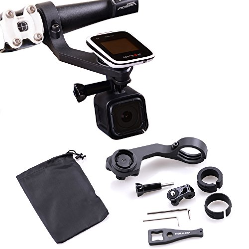 GPS Out Front Bike Mount by HOLACA, Holder Set  For Polar Sm