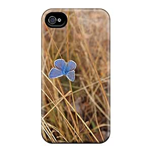 For Luoxunmobile333 Iphone Protective Cases, High Quality Samsung Galaxy Note3 Delicate Blue Butterfly Skin Cases Covers