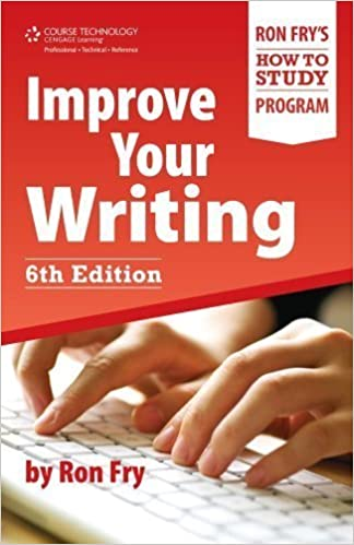 Improve Your Writing (Ron Fry's How to Study Program) by Ron Fry (2011-12-30)