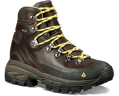 Vasque Women's Eriksson GTX Backpacking Boots Coffee / Yellow 6.5 M & Cap by Vasque, USA