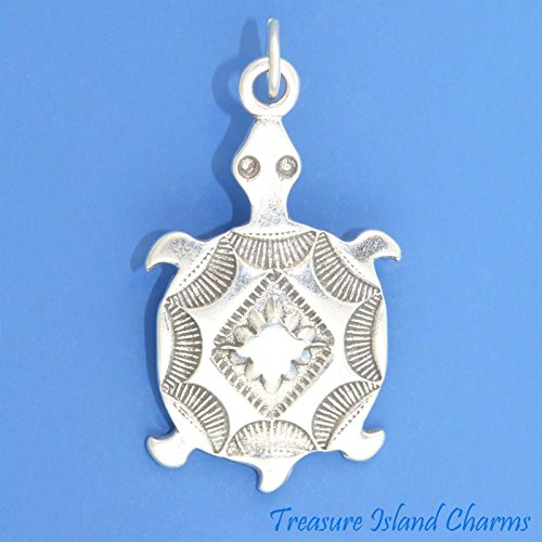 OutletBestSelling Beads Bracelet Southwest Motif Native American Turtle Sterling Silver Charm Pendant