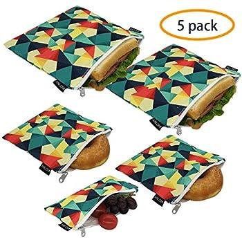 Amazon.com: Langsprit - Bolsas reutilizables para bocadillos ...