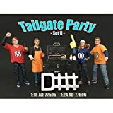 NEW 1:18 AMERICAN DIORAMA FIGURE - TAILGATE PARTY SET II - Vehicle Figure By American Diorama