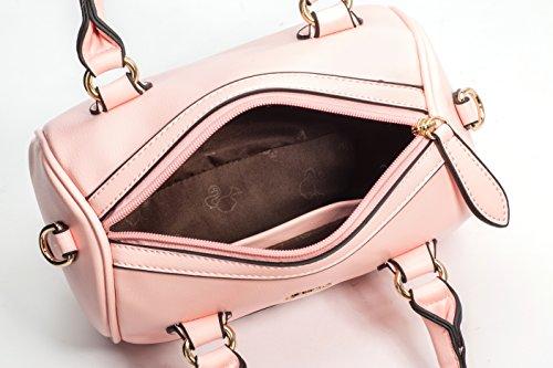 Barbie BBFB132 Bolso de Estilo Moderno Bolso de Cita de Remaches Bolso de Multiutilidad rosa suave