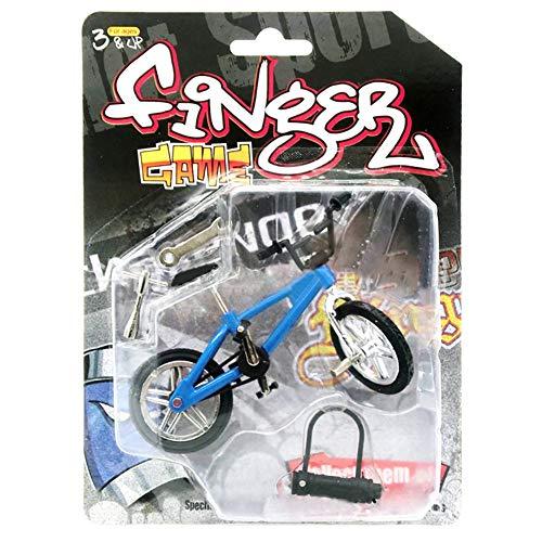 [해외]DSstyles Mini Bike Finger BikeKids Simulation Mini Alloy Finger Bicycle Spare Tire Bicycle Bikes Gift Creative Game Toy LX801-1 Blue / DSstyles Mini Bike Finger Bike,Kids Simulation Mini Alloy Finger Bicycle Spare Tire Bicycle Bike...