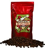 Hawaii Roasters 100% Kona Coffee, Dark Roast, Whole Bean, 14-Ounce Bag