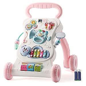 Andadores Aprendizaje Walker música del coche con pilas niños ...