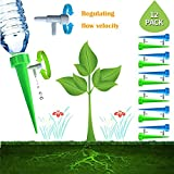 DCZTELG Plant Self Watering Spikes System Vacation Plant Waterer Nannies Pot Self Drip Irrigation Slow Release Devices Care Your Indoor & Outdoor Home Office Plants -12 Pack