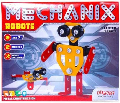ZEPHYR   MECHANIX Robot Construction Set for 7+ Years | Multicolor  Robot