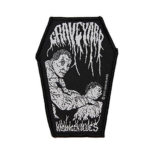 Graveyard Hisingen Blues Patch Band Album Art Rock Music Woven Sew On Applique