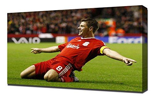 Liverpool Steven Gerrard 2 - Canvas Art - Steven Gerrard Canvas