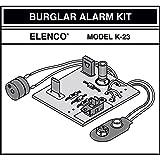 Elenco K-23 Burglar Alarm Soldering Kit | Lead Free Solder | Great STEM Project | SOLDERING REQUIRED