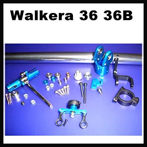 Yoton Accessories 36 36B CNC Aluminium Metal Tail Rotor Set Assembled