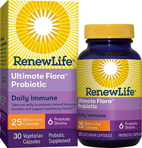 Probiotics: ReNew Life Ultimate Flora Daily Immune