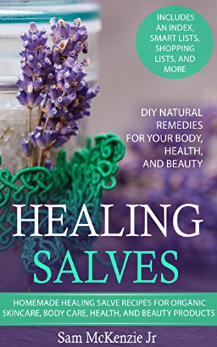 Healing Salves Homemade Skincare Products ebook product image