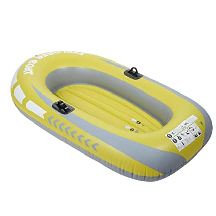 Amazon.com: Heitamy Inflatable Boat, Double Person Heavy ...