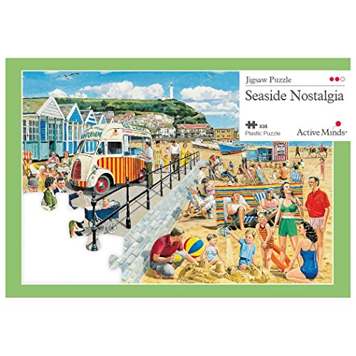 Active Minds 35 Piece Seaside Nostalgia Jigsaw Puzzle | Specialist Alzheimers / Dementia Activities & Games