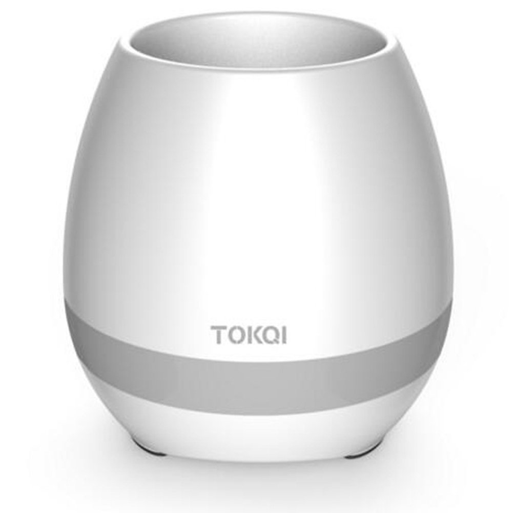 wo nice Bluetooth Speaker Smart Music Flower Pot Touch Sensing Gift