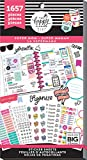 Me & My Big Ideas PPSV-78-3048 The Happy Planner Girl - Value Pack Stickers - Super Mom