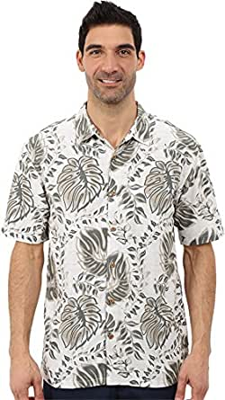 O'Neill Mens Jack O'Neill Sunset Button Up Short-Sleeve Shirt, Dusty Olive, Medium