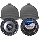 Hogtunes 362F-RM Front Speaker (Replacement Gen 3 6.5'' for 2014-2016 Harley-Davidson Touring Models)