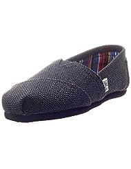 Toms Women's Classic Burlap Low Top Canvas Flat Shoe