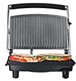Chefman RJ02 Panini Grill and Press, Silver review