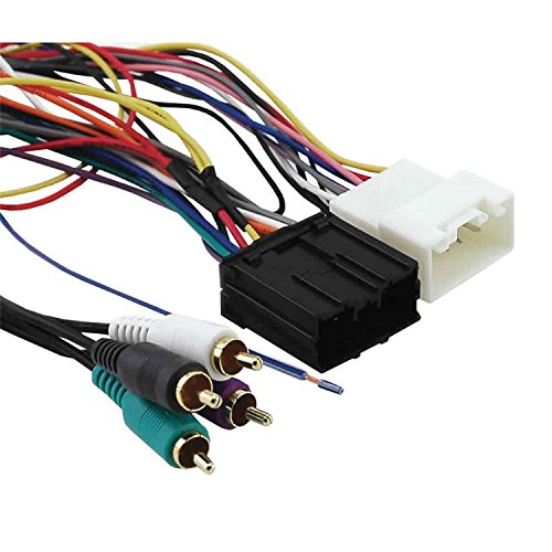 (Axxess MITO-01 Amplifier Interface Harness for Select 2006-2008 Mitsubishi Vehicles)
