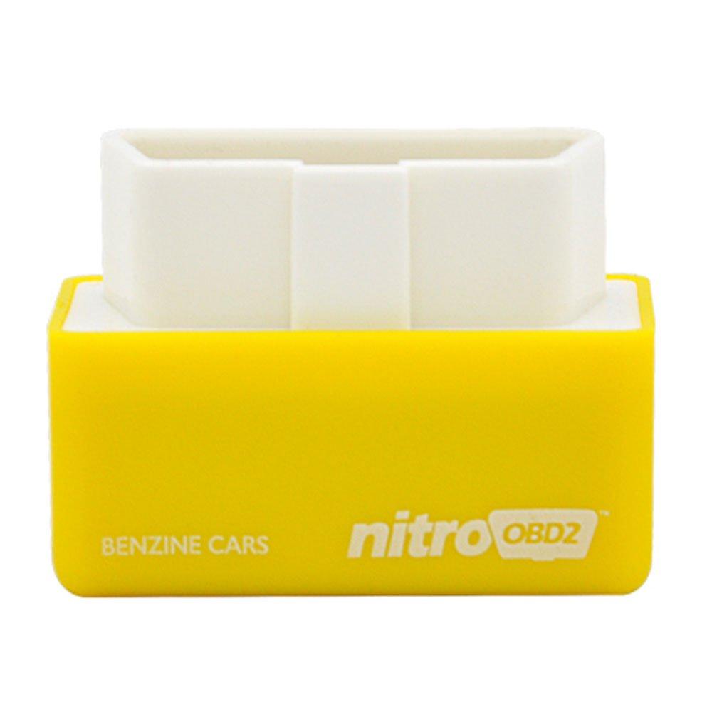 Nitro OBD 2 Modulo aggiuntivo Performance Chip Tuning Box per Auto Benzina Diagnostic ECU 2015 OEM CH0047