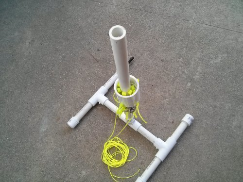 Soda Bottle Water Rocket Launcher Toy Do it Yourself Kit. Prefabricated parts, 10 to 15 minute assembly.