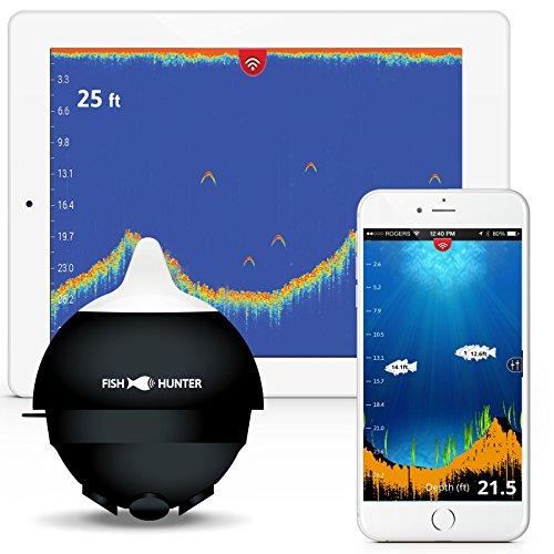 FishHunter PRO, The World's Fastest Wireless Portable Fish Finder by FishHunter
