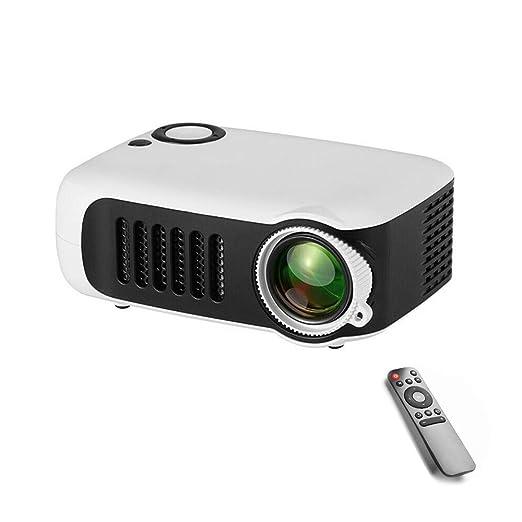 Mini proyector, proyector de Video portátil de Cine en casa con ...