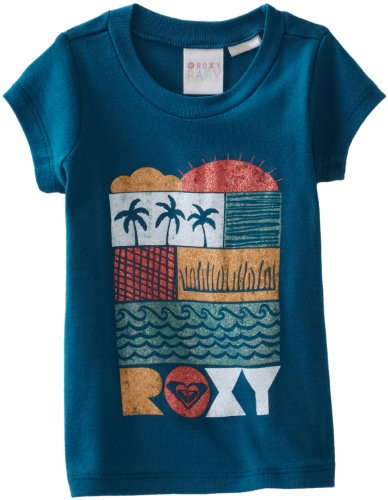 Roxy Kids Baby Girls' Infant Vacation Please Tee