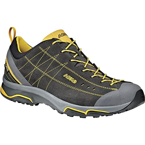 quality free shipping for sale Asolo Men's Nucleon GV Hiking Shoes Graphite/Yellow good selling cheap price cheap discounts clearance tumblr cheap sale latest collections D7cbhtjL2p