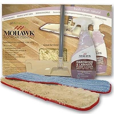 Mohawk® FloorCare EssentialsTM Hardwood & Laminate Care Kit