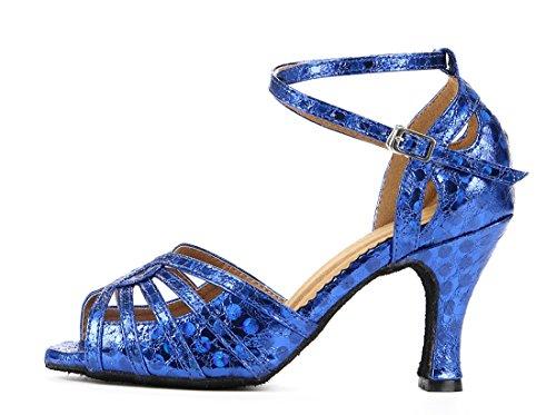 Heel Jazz e Donna Joymod 35 Moderno Blue MGM 8cm Blu 8qPRxWw5