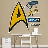 FATHEAD Star Trek: The Original Series Insignia-Fathead Junior Graphic Wall Décor