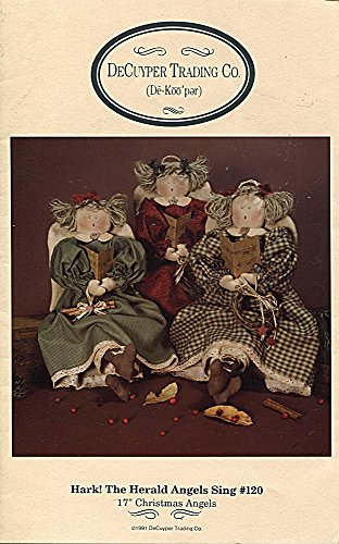 DeCuyper Trading Co. Pattern 120 Hark! the Herald Angels Sing 17'' Christmas Angels by Decuyper Trading Co.